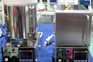 超精密 手のひらポット炉 FT-01P+「手のひらサイズ」超精密小型電気炉 FT-01X