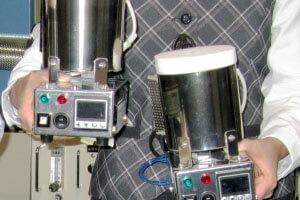 超精密 手のひらポット炉 FT-01P 軽々持てる!