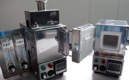 「手のひらサイズ」超精密小型電気炉 FT-01X オプション装着例