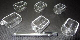 「手のひらサイズ」超精密小型電気炉 FT-01X 専用冶具「石英ボート」