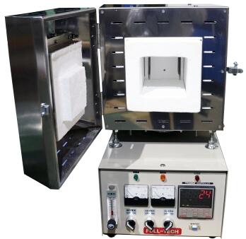 高性能 高温小型電気炉 FT-106シリーズ 炉内写真