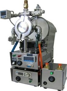 専用ミニ・ポンプとデジタル・ガス導入ユニット FT-DG0207の設置イメージ