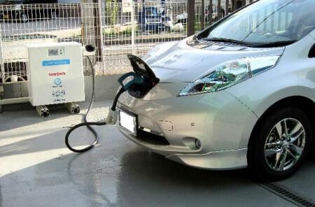 環境対策車両 LEAF to Home(節電・停電対策)