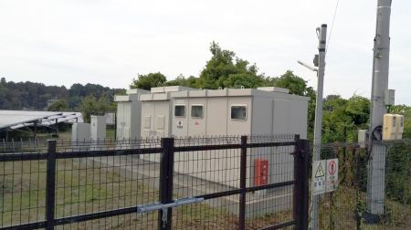 フルテック自然エネルギー事業部「フルテック伊勢発電所」全景4