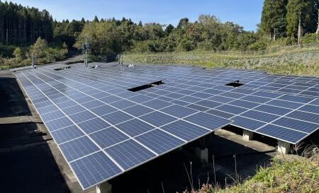 フルテック自然エネルギー事業部「フルテック鹿児島発電所」全景1