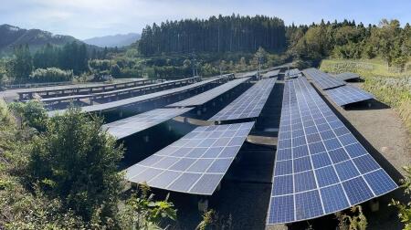 フルテック自然エネルギー事業部「フルテック鹿児島発電所」全景3