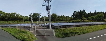フルテック自然エネルギー事業部「フルテック鹿児島発電所」全景7