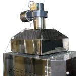 電気炉用排気ファン付きダクトフード